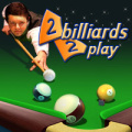 Billiards game with 2 rules mode - 8-Ball and Straight Pool.