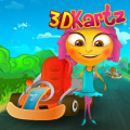 Race with fast kartz in this 3D game with 25 levels.
