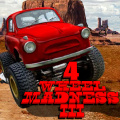 Your driving skills will be tested in this monster truck racing title!