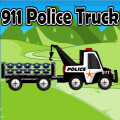 Drive the police truck and deliver all the police items to the station.