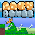 Collect all the bones in this simple platform game.