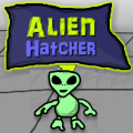 A simulation game where you operate the alien hatching lab.
