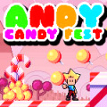 Help Andy to get all the candies in this simple puzzle platform game.