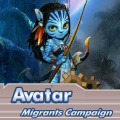 Avatar world is being invaded, help the inhabbitants.