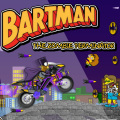 Help Bartman as zombies are rising in the city & he has got to stop them