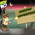 Help Ben 10 explore the Amazon jungle & pass all the challenging stages.