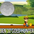 Help Ben 10 move, collect coins and items, while avoiding falling rocks!