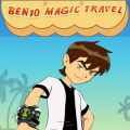 Ben 10 has learned magic which can let him walk on air!