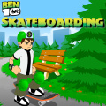 Help him overcome obstacles & collect items while skateboarding.
