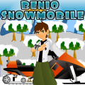 Help Ben 10 do a little rough terrain racing with his snowmobile.