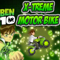 Help Ben 10 ride the coolest motorbike ever through the rough terrain.