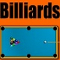 Aim and shoot with your mouse in this good billiards game.