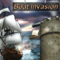 Build defense towers and try to destroy all enemy boats.