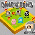 A bomb chain-reaction game where you detonate enough bombs to proceed.
