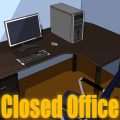 Try to figure out how to escape from the closed office!