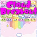 Destroy the enemy clouds in this cute breakout game.