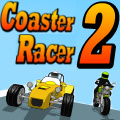 More high flying racing in this sequel to the Coaster Racer.