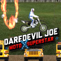 Take Daredevil Joe through all these high flying, death defying stages.
