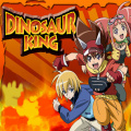 A find the difference game with the Dinosaur King theme.