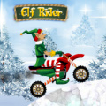 Race on your bike, collecting presents so nobody misses out on Christmas