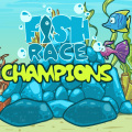Enter your fish in the fish racing competition, the train him hard!