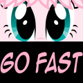 Help Fluffle Puff realize her dream .... to be the fastest pony!!!