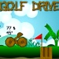 Play a prehistoric round of golf with your trusty catapult.