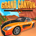 Drive thru the Grand Canyon, careful not to crash as the game speeds up.