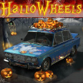 Driving game where you avoid pumpkins & ghosts while collecting candies.