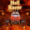 Race an awesome monster truck to race through Hell trying to win!