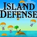 Happy on your island paradise, defend it from paratroopers.