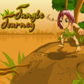 Help the jungle boy make his way home without being killed by fauna.
