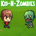 Help the kid make it across the field of zombies ... by blowing them up!