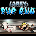 Help Larry guide his trusty & mentally disturbed steed pup.