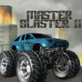 A monster truck title where you get to jump over cars or smash them down