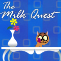 Help the kitty cute & hungry find its desired milk treasure.