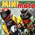 Have fun racing your mini moto around the track!