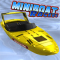 Race your Miniboat around 6 courses and try to win the trophy.