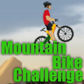 Your task is to ride over the mountain strategically & reach point B.