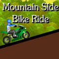 Take the challenge of riding through the hilly, mountain-side terrain.