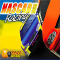 A 3D racing game, one using a NASCAR-stlye graphics skin.
