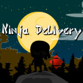 As a fearless ninja warrior, your task is to safely deliver the package.