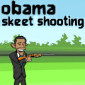 As Obama, defend The White House by shooting all flying objects.