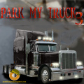 Park the truck in a place shown, but you will encounter obstacles also.