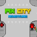 Explore Pix City while trying not to get caught up in corruption & crime