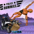 As a police crash test dummy, test out the departments ATVs!