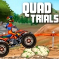 Jump on your quad & see if you can get past the objects in each level.