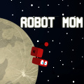 As a little robot, try to escape the moon facility & get back to Mom.