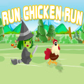 Run as fast as you can to escape the hungry witch!