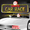 Help santa collect gifts on his way during the racing event.